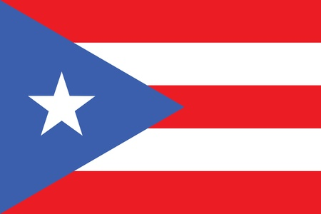 rican: Flag of Puerto Rico