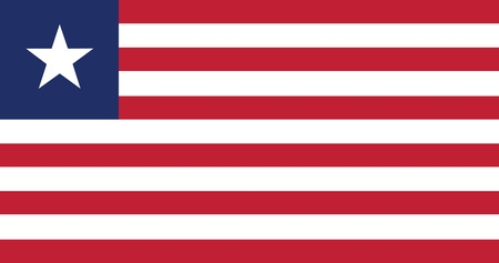 Flag of Liberia Stock Vector - 16252396