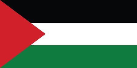 jordan: Flag of Palestine Illustration