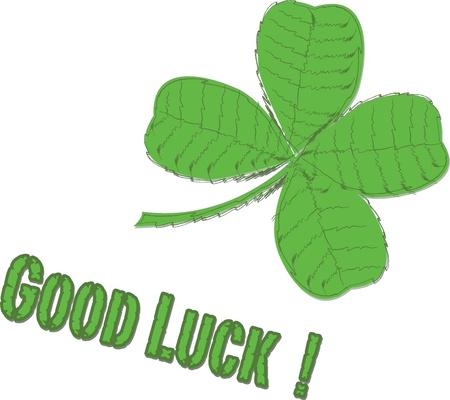 good day: Good Luck   Illustration