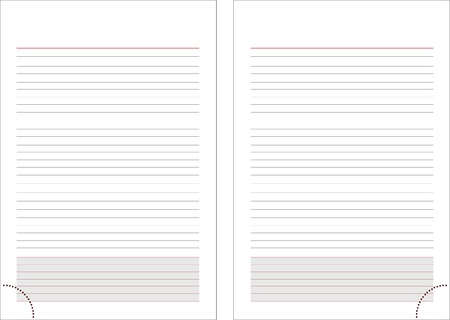 Two pages Stock Vector - 17388248
