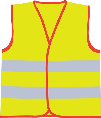 Safety vest Stock Vector - 17498336