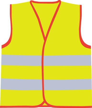 safety vest: Safety vest