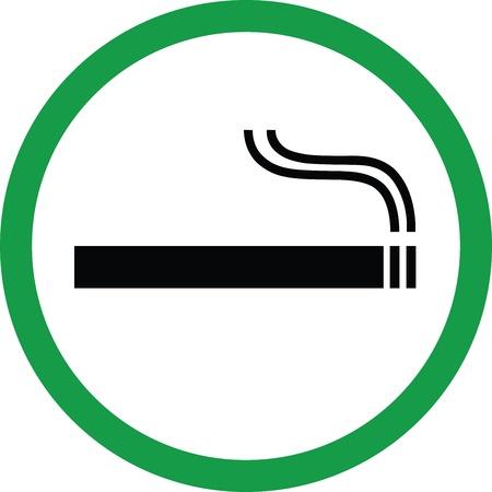 Smoking Area Stock Vector - 17582169