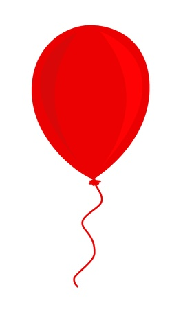 ballon rouge: Ballon rouge Illustration
