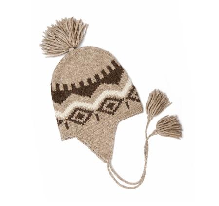 lame: Winter cap Stock Photo