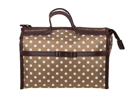Bag with cosmetics Stock Photo - 19603733