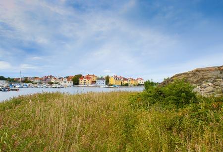 little town: Scandinavian landscape