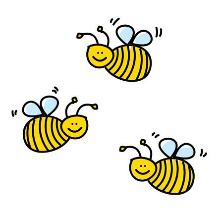 Bees Stock Vector - 23289387