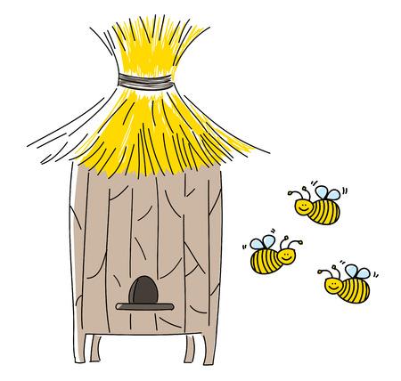 Beehive Stock Vector - 23420330