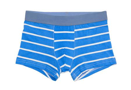 man in underwear: Boxer shorts