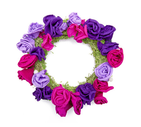 Floral wreath photo