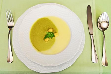 cream puff: Soup