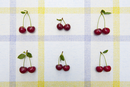Fresh cherries photo
