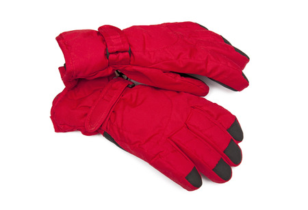 Warm gloves photo