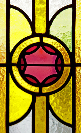 priory: Stained glass