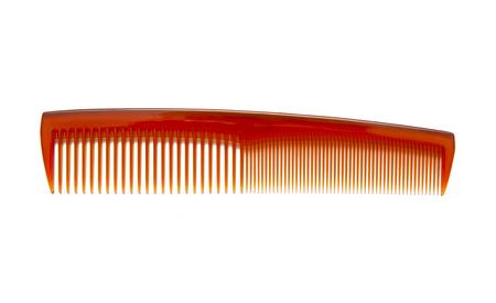 plastic comb: Comb Stock Photo