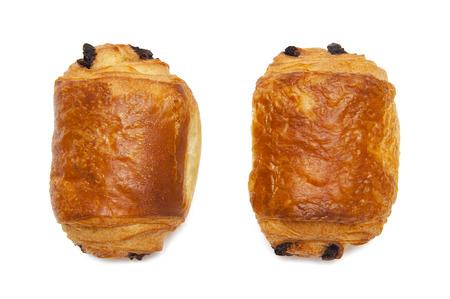 Croissants mit Schokolade Standard-Bild - 34319153