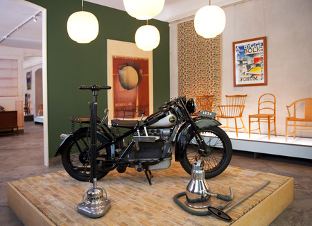 COPENHAGEN, DENMARK - JULY 2: The Designmuseum Danmark pernament exhibition on July 2, 2014 in Copenhagen. The museum is located in the old Frederik s hospital