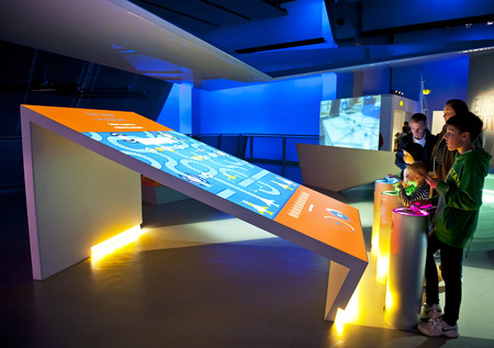 LONDON, ENGLAND - MAY 31: The Science Museum in London on May 31, 2015 in London Editorial