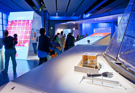 the british museum: LONDON, ENGLAND - MAY 31: The Science Museum in London on May 31, 2015 in London Editorial