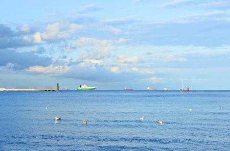 horison: sea landscape