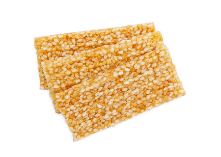 Sesame Seed Cookies Stock Photo