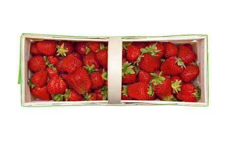 strawberry baskets: strawberries