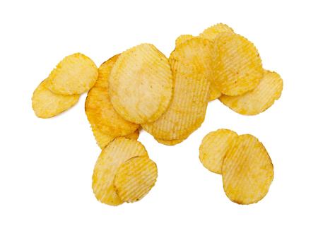 potato: potato chips Stock Photo
