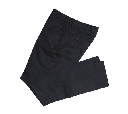 black color: trousers Stock Photo