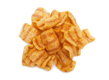 pimenton: patatas fritas Foto de archivo