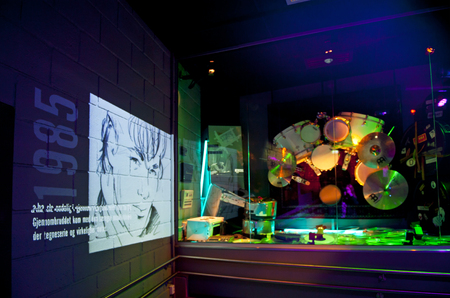 audiovisual: OSLO, NORWAY - AUGUST 28, 2016: Popsenteret - The Pop - Centre Interactive Museum in Oslo. Editorial