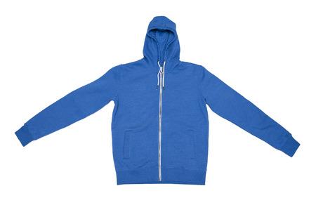 chaqueta: Sudadera chaqueta aislados en blanco