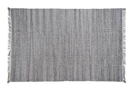Teppich lokalisiert auf dem weißen Hintergrund