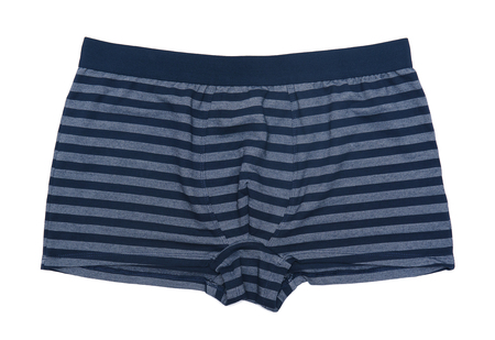 Boxer shorts isolated on white background Banque d'images