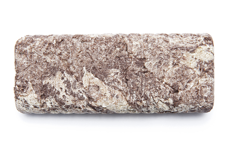 Halva with cocoa isolated on white background Stock Photo