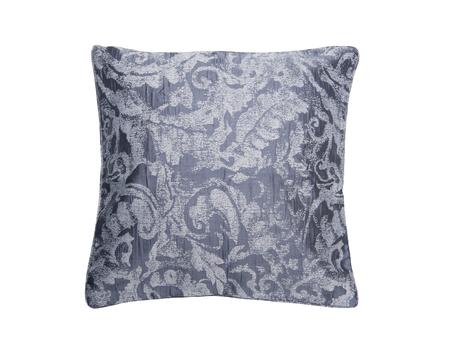 Jacquard ornamental pattern pillow isolated on white background Reklamní fotografie - 120734213