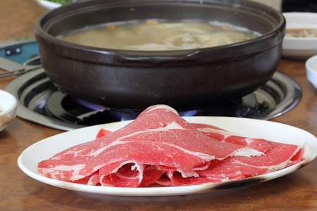 Beef hot pot photo