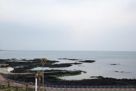 stay nice: La pintoresca zona de vista de la isla de Jeju, Corea del Sur, es muy tranquilo y alejado de la ciudad, muy agradable para estancias largas vacaciones. Im�genes se toma desde la ventana del Hotel 's.
