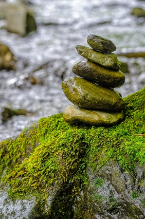 stone which was able to maintain balance