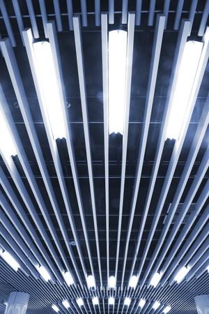 luminescent: the subway station in shanghai china.