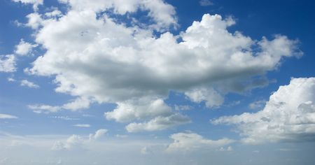 Blue sky and white cloud Stock Photo - 4734908