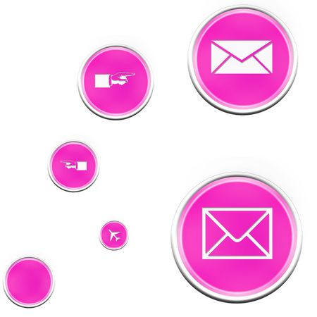 the web icon and web button photo