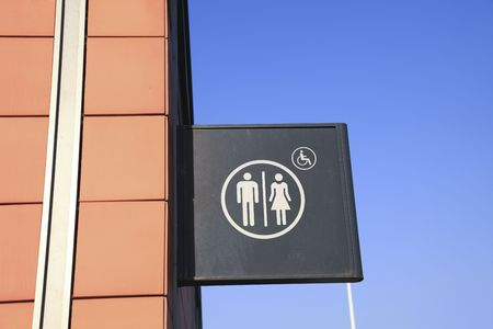 Sign of toilet photo