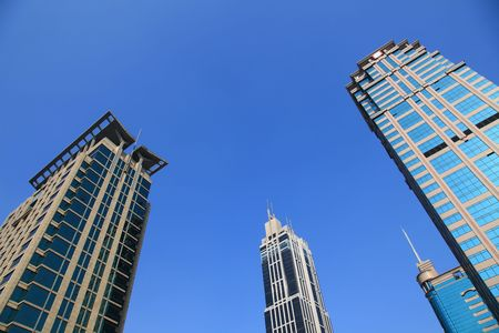 erection: the modern building in shanghai.