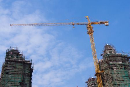 Construction work site of china. Stock Photo - 5007633