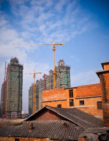 Construction work site of china. Stock Photo - 5007632