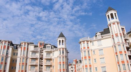 A row of new townhomes of china. Stock Photo - 5007663