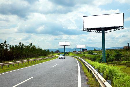 highroad: the billboard ande road outdoor.