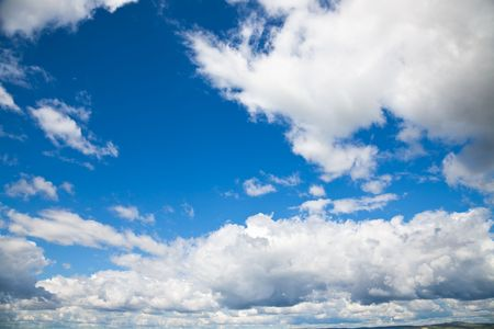 Blue sky and white cloud Stock Photo - 5462865